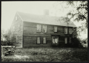 Exterior view of the Lee House, East Lyme, Conn., 1921