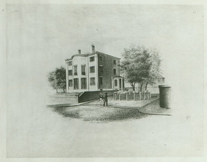Exterior view of the Jonathan Mason House, Mt. Vernon Street, Boston, Mass., undated