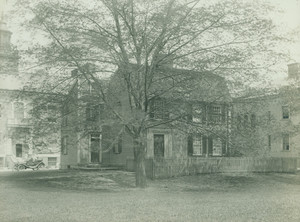 Exterior view of the Edward Devotion House, Brookline, Mass., 1914