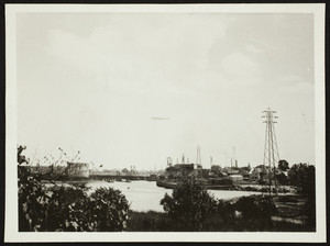 Los Angeles flying over Portsmouth, Portsmouth N.H., August 12, 1930