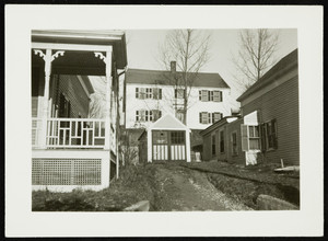 The Bee Hive porch, Portsmouth, N.H., undated