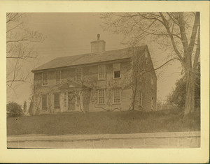 Exterior view of the Parson Gay House, Hingham, Mass., undated