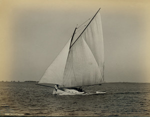 Catboat Harbinger, undated
