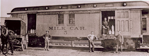 View of H.P. Hood Milk Car No. 5, Derry, New Hampshire, undated