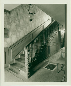 Interior view of the Squire Seaver House, Kingston, Mass., undated