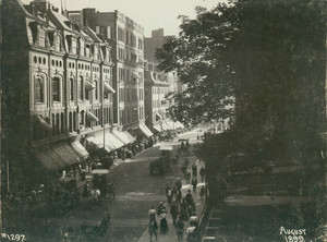 View of Tremont Street, Boston, Mass., August, 1899