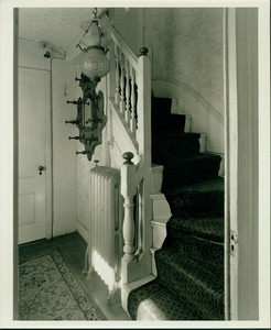 Interior stairs, Martha Parsons House, Revere, Mass., undated