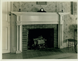 Fireplace, Martha Parsons House, Revere, Mass., undated