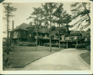 Exterior view of the F. Meredyth Whitehouse House, Manchester-by-the-Sea, Mass., undated