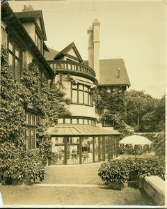 Exterior view of the Dr. J.H. Lancashire House, Manchester, Mass., undated