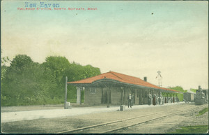 Railroad Station, North Scituate, Mass.