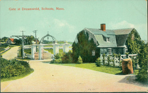 Gate at Dreamwold, Scituate, Mass.
