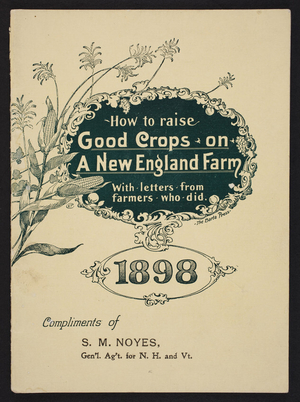 How to raise good crops on a New England farm, Russia Cement Co., Gloucester, Mass., 1898