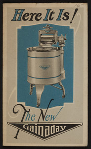 Here it is! The new Gainaday, Treadwell Electric Co., 393 Main Street, Worcester, Mass., undated