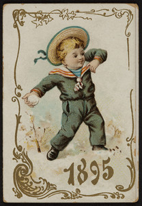 Trade card, location unknown, 1895