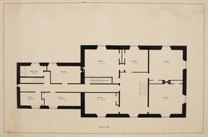 Chamber plan of unidentified house, location unknown, undated