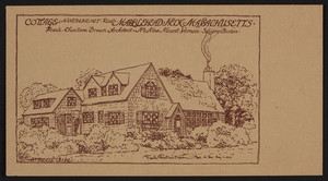 Trade card for Frank Chouteau Brown, architect, No. 9 Mount Vernon Square, Boston, Mass., August 1, 1927