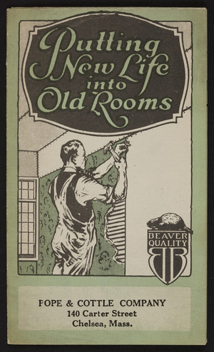 Putting new life into old rooms, The Beaver Board Companies, Buffalo, New York, 1921