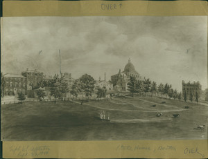 State House and Boston Common, Boston, Mass., undated