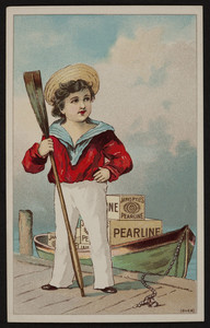 Trade card for Pearline Soap, James Pyle, New York, undated