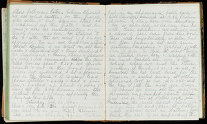Diary entry, Saturday, July 23, 1892