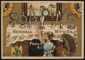 Trade card for Soapine, Kendall Mfg. Co., Providence, Rhode Island, undated