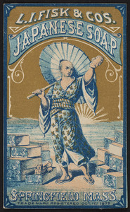 Trade card for L.I. Fisk & Co's. Japanese Soap, Springfield, Mass., undated