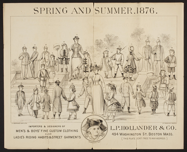 Spring and summer, 1876, L.P. Hollander & Co., 494 Washington Street, Boston, Mass., 1876