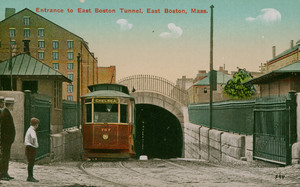 Entrance to East Boston tunnel, East Boston, Mass.