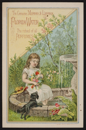 Trade card for Murray & Lanman Florida Water, Lanman & Kemp, New York, New York, undated
