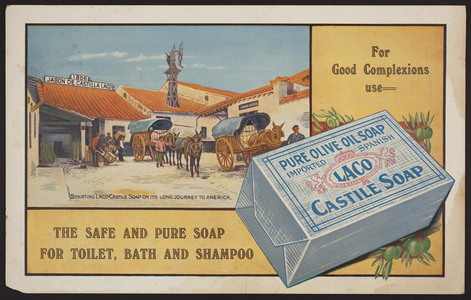 Advertisement for Laco Castile Soap, location unknown, undated