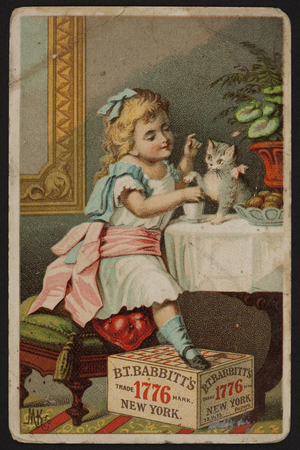 Trade card for B.T. Babbitt's Best Soap, New York, New York, undated