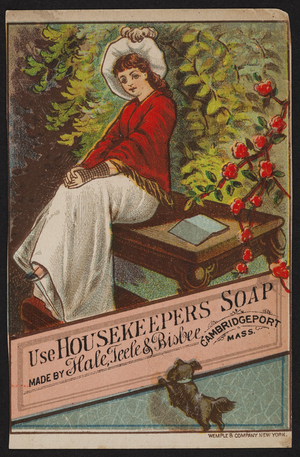 Trade card for Housekeepers Soap, Hale, Teele & Bisbee, Cambridgeport, Mass., undated