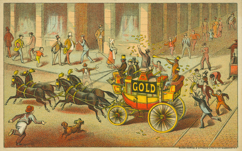 Trade card for Gold Soap, Schultz & Co., Zanesville, Ohio and 138 Chambers Street, New York, New York, undated