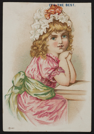 Trade card for Good-Will Soap, G.E. Marsh & Co., 395 Chestnut Street, Lynn, Mass., undated