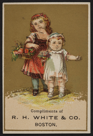 Trade card for R.H. White & Co., Boston, Mass., undated
