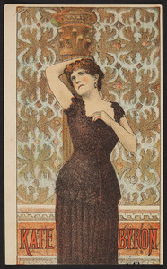Trade card for Kate Byron, location unknown, undated