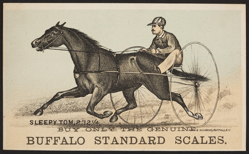 Trade card for Buffalo Standard Scales, Buffalo, New York, undated