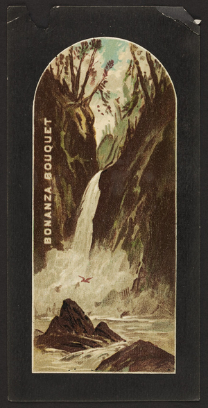Trade card for Bonanza Bouquet, coffee, location unknown, undated