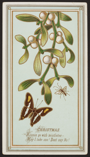 Christmas greeting card, location unknown, undated