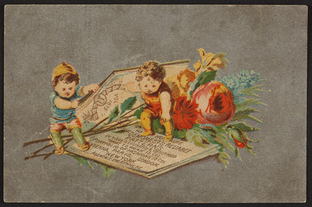 Trade card for the Tremont Bazar, fancy goods, jewelry, silver plated ware, Parker Brothers, 12 Tremont Row, Boston, Mass., 1879