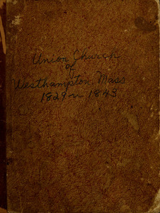 Records of Church of Westhampton