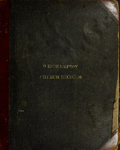 Record of the Congregational Church in West Hampton continued from Book No. 3