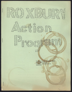 Roxbury Action Program Collection, 1966-1974