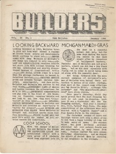Builders. vol. 4, no. 1