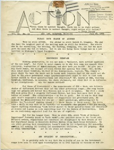 Action. vol. 2, no. 11