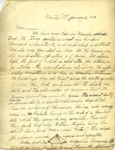 Letter from Brewster Frost Ames to Benjamin Smith Lyman