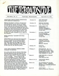 The Broadside. Vol. 1, no. 15