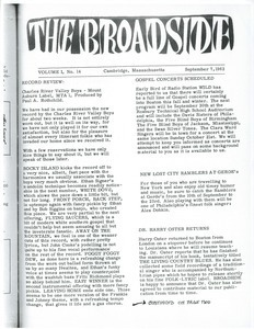 The Broadside. Vol. 1, no. 14