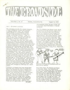 The Broadside. Vol. 1, no. 12